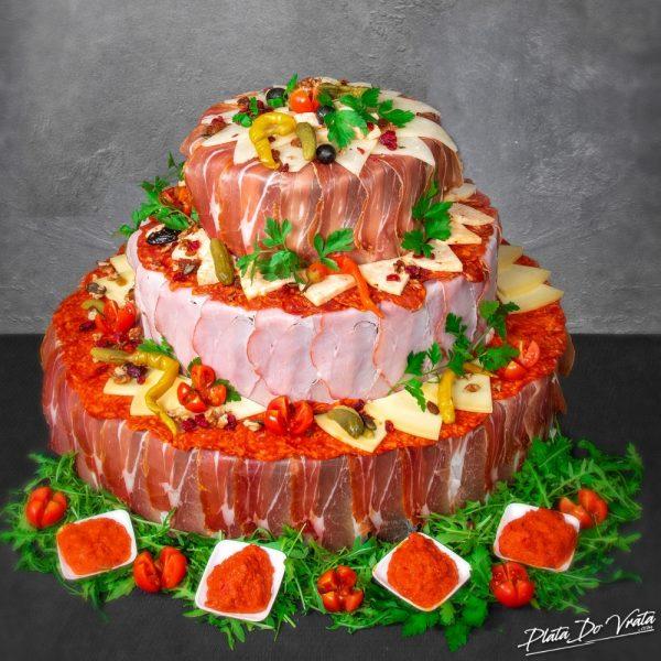 Jelena - mala slana torta - 2920g
