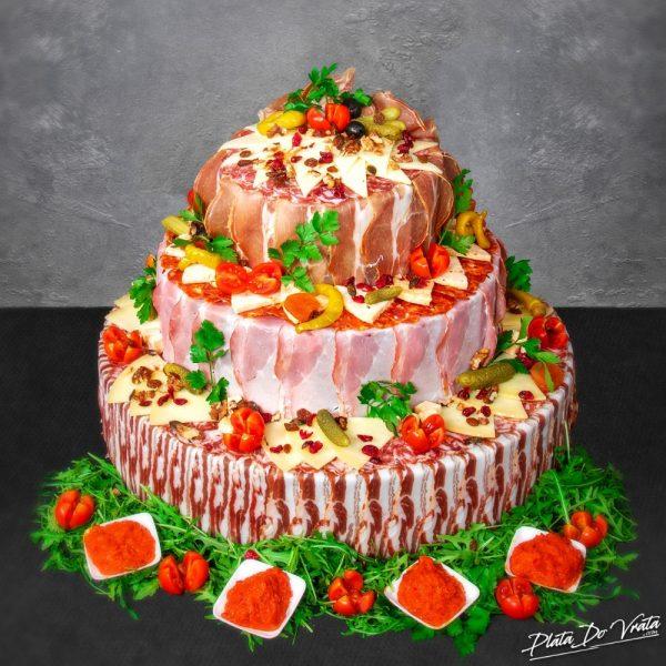 Katarina - mala slana torta - 2920g