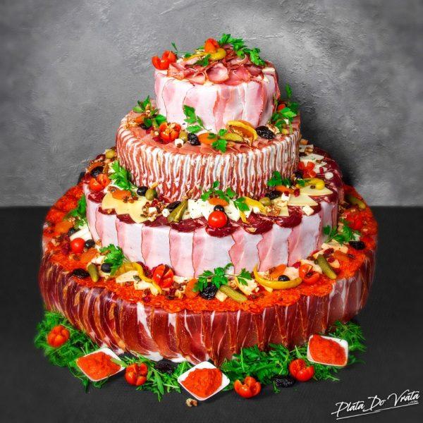 Ivana - velika slana torta - 4840g