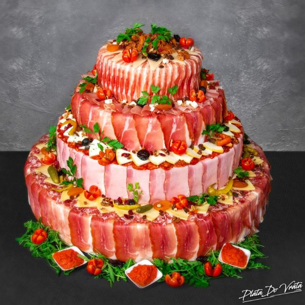 Lorena - velika slana torta - 4840g